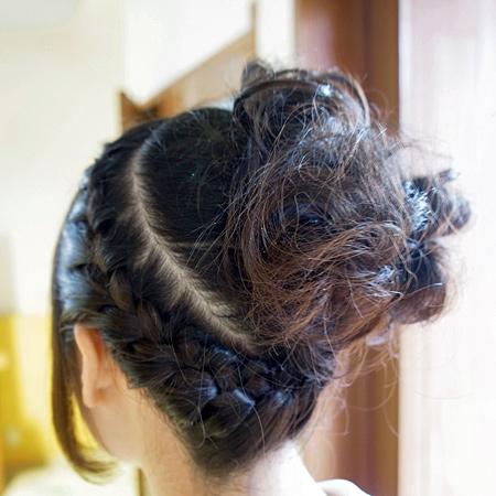 祭り 髪型 ミディアム|辰遜?竪?族巽促足 辿束捉奪?? | Sanpatsu|髪型