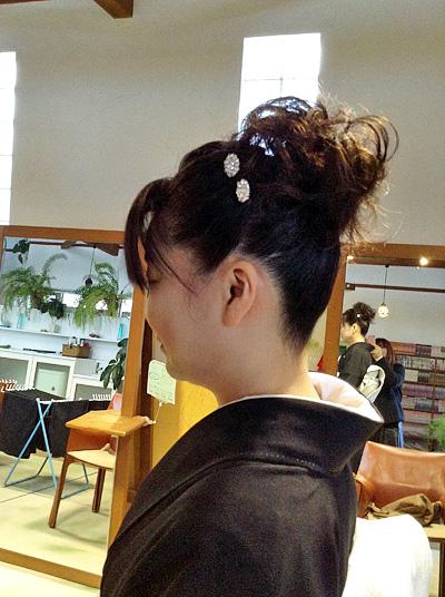 花嫁 髪型 画像 ボンネ