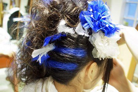体育祭の髪でけた~2