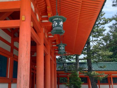 京都平安神宮で雅な時間を過ごして来た。