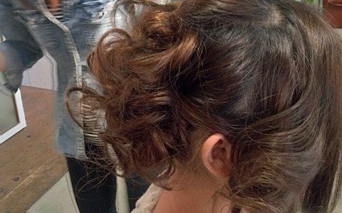 連日の振袖ヘアー。髪の長い方におすすめのボリューミィーアップ。