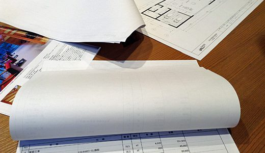 [新店舗]平面図と概算がおおむね決まり、次回は外装や外観の打ち合わせ。