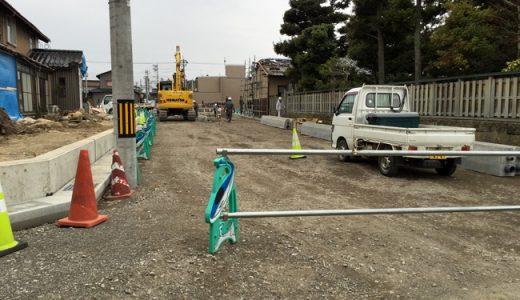 朗報!工事中の今江・新橋が4月9日より開通します。