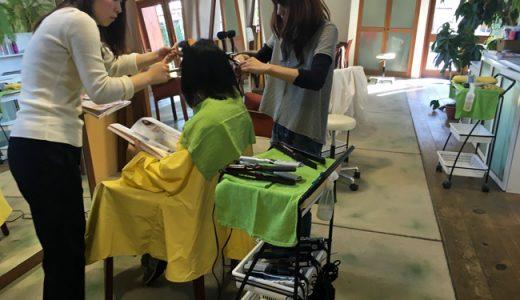 【お知らせ】 ストレートパーマ・キャンペーン始めます。今年はくせ毛に効くオイルプレゼント!