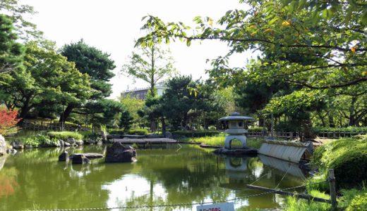 小松市の中心地、芦城公園付近を歩いてみたら以外に発見があった。