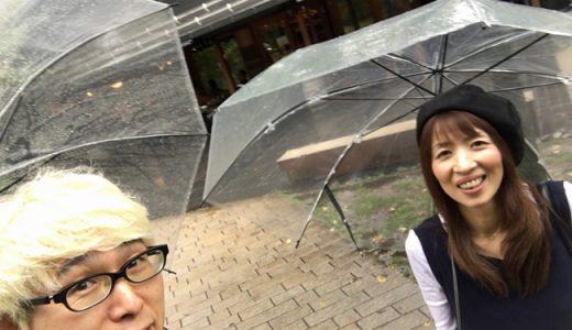 どしゃ降りの中、軽井沢までひとっ走りして来ました!