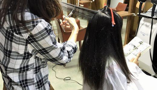 多くて太い髪の毛の毛量調整はこれで決まり。フレンチカットグラン。