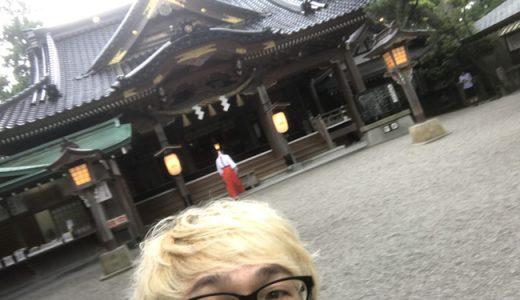 ついたち詣りに安宅住吉神社へ行って来た。早朝のお詣りはとっても爽やか!