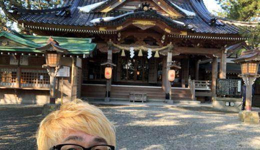 久しぶりの安宅住吉神社。凛とした空気がすがすがしい。