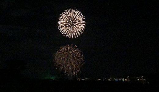 毎夜上がる、片山津温泉の花火が何気に好きです。
