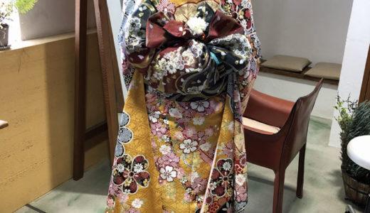 着物が似合う季節になって来ました。秋の婚礼シーズンには着物でお出かけ!