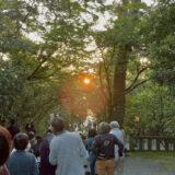 陽のみち。6月1日早朝、安宅住吉神社に行って来ました!